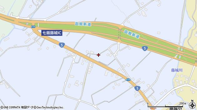 〒041-1103 北海道亀田郡七飯町藤城の地図