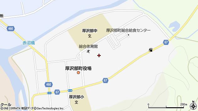 〒043-1113 北海道檜山郡厚沢部町新町の地図