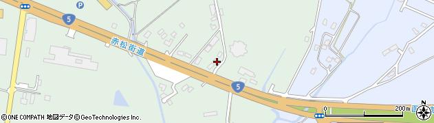 北海道亀田郡七飯町峠下326周辺の地図