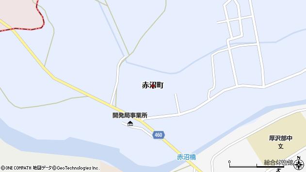 〒043-1111 北海道檜山郡厚沢部町赤沼町の地図