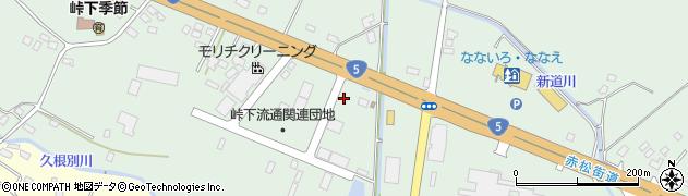北海道亀田郡七飯町峠下70周辺の地図