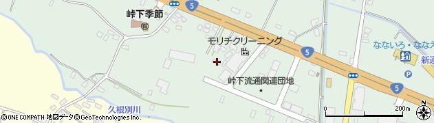 北海道亀田郡七飯町峠下73周辺の地図
