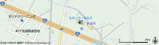 北海道亀田郡七飯町峠下380周辺の地図