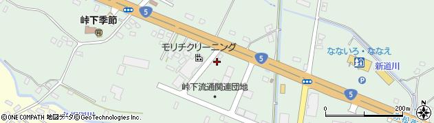 北海道亀田郡七飯町峠下84周辺の地図