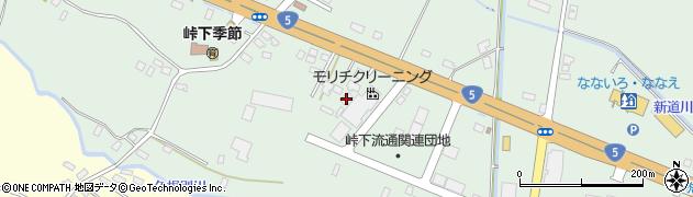 北海道亀田郡七飯町峠下106周辺の地図