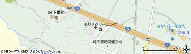 北海道亀田郡七飯町峠下107周辺の地図