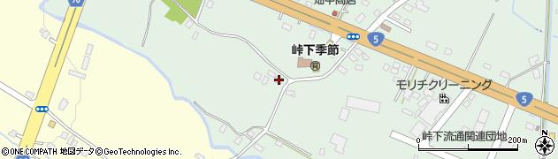 北海道亀田郡七飯町峠下157周辺の地図