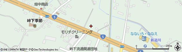 北海道亀田郡七飯町峠下308周辺の地図