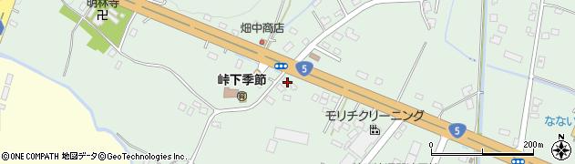 北海道亀田郡七飯町峠下99周辺の地図