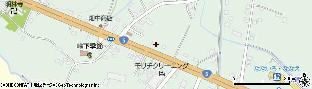 北海道亀田郡七飯町峠下306周辺の地図