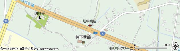 北海道亀田郡七飯町峠下301周辺の地図