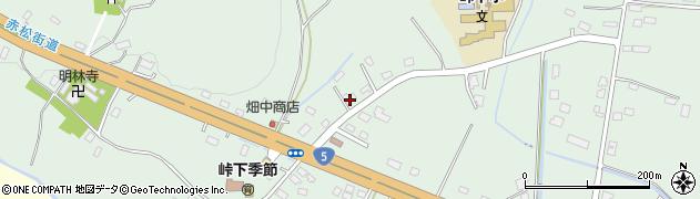 北海道亀田郡七飯町峠下429周辺の地図