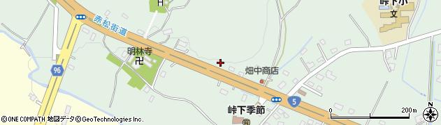北海道亀田郡七飯町峠下296周辺の地図