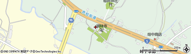北海道亀田郡七飯町峠下200周辺の地図