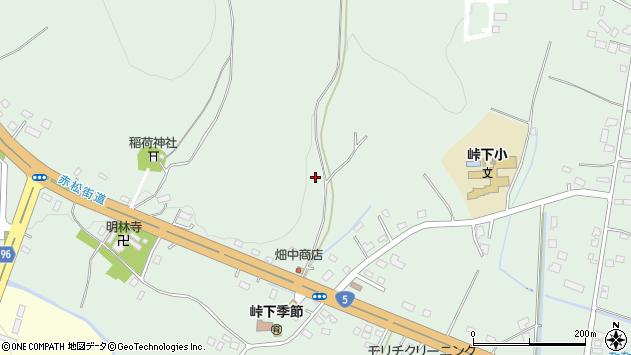 〒041-1102 北海道亀田郡七飯町峠下の地図