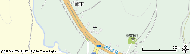 北海道亀田郡七飯町峠下284周辺の地図
