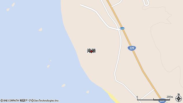 〒043-0101 北海道爾志郡乙部町滝瀬の地図