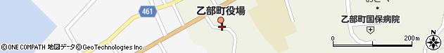 北海道爾志郡乙部町周辺の地図