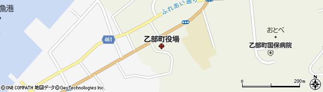 北海道乙部町(爾志郡)周辺の地図