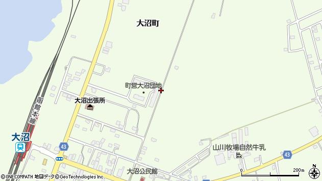 〒041-1354 北海道亀田郡七飯町大沼町の地図