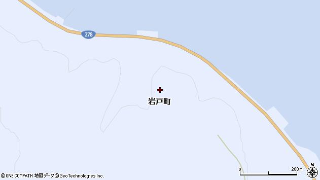 〒041-1624 北海道函館市岩戸町の地図
