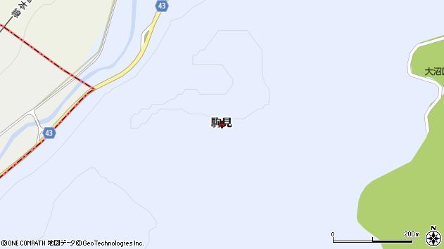 〒041-1405 北海道茅部郡鹿部町駒見の地図