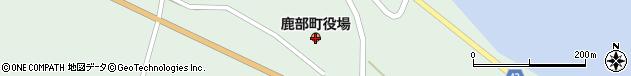 北海道茅部郡鹿部町周辺の地図