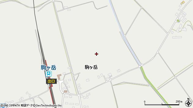 〒049-2141 北海道茅部郡森町駒ケ岳の地図