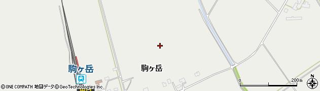 北海道森町(茅部郡)駒ヶ岳周辺の地図