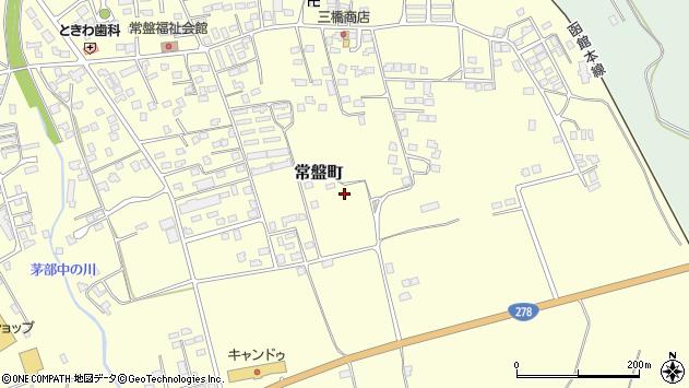 〒049-2305 北海道茅部郡森町常盤町の地図