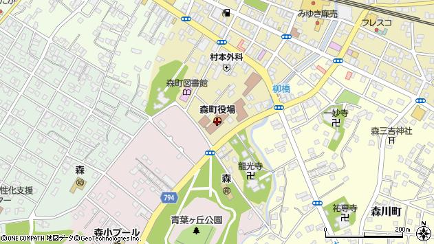 〒049-2300 北海道茅部郡森町(以下に掲載がない場合)の地図