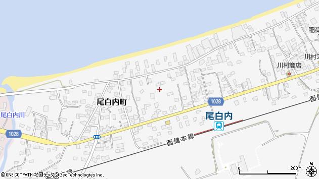〒049-2301 北海道茅部郡森町尾白内町の地図