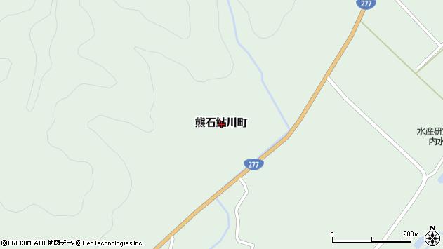 〒043-0402 北海道二海郡八雲町熊石鮎川町の地図