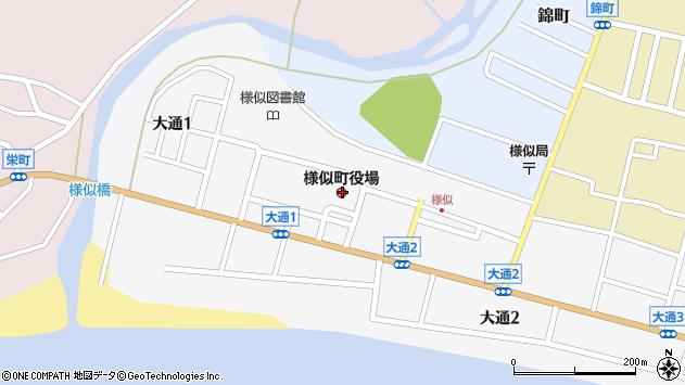 〒058-0000 北海道様似郡様似町(以下に掲載がない場合)の地図