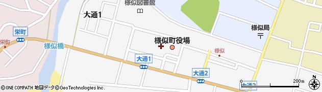 北海道様似郡様似町周辺の地図