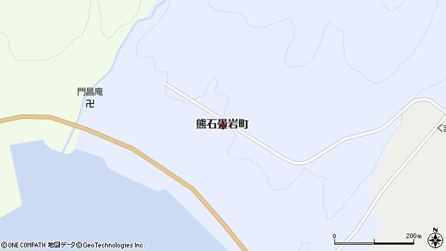 〒043-0404 北海道二海郡八雲町熊石畳岩町の地図