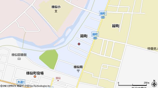 〒058-0015 北海道様似郡様似町錦町の地図