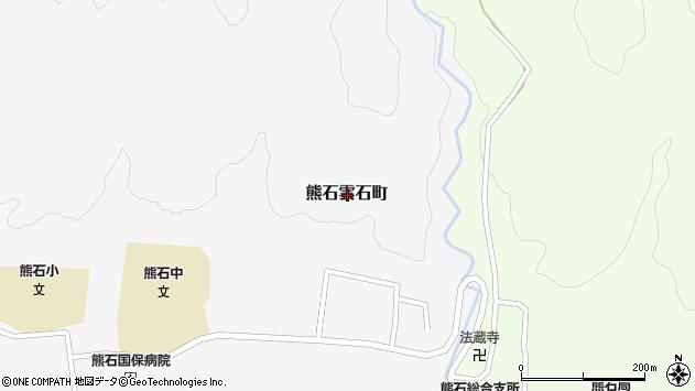 〒043-0416 北海道二海郡八雲町熊石雲石町の地図