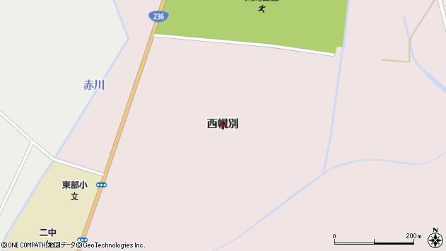 〒057-0002 北海道浦河郡浦河町西幌別の地図