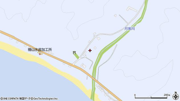 〒057-0004 北海道浦河郡浦河町月寒の地図