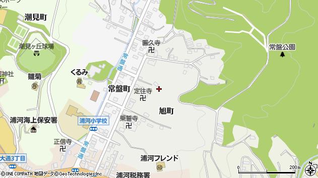 〒057-0011 北海道浦河郡浦河町旭町の地図