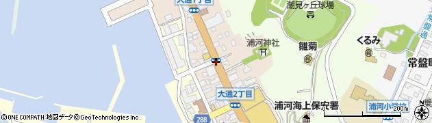 大通2周辺の地図