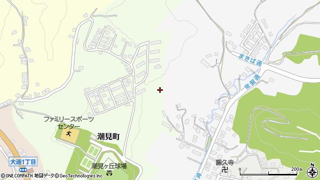 〒057-0021 北海道浦河郡浦河町潮見町の地図