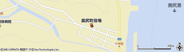 北海道奥尻町(奥尻郡)周辺の地図