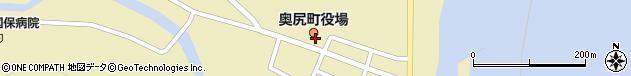 北海道奥尻郡奥尻町周辺の地図