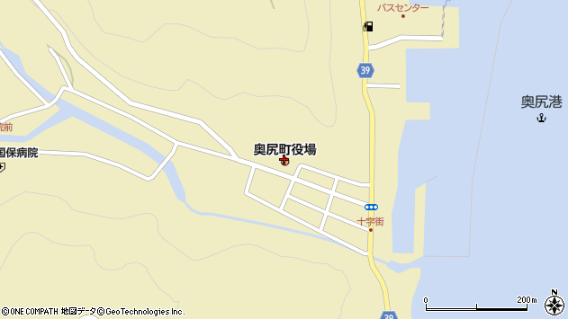 〒043-1525 北海道奥尻郡奥尻町湯浜幌内の地図