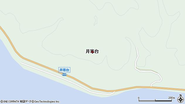 〒057-0035 北海道浦河郡浦河町井寒台の地図