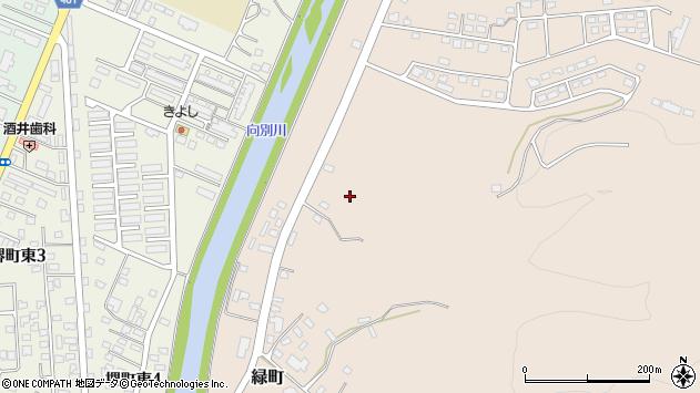 〒057-0025 北海道浦河郡浦河町緑町の地図