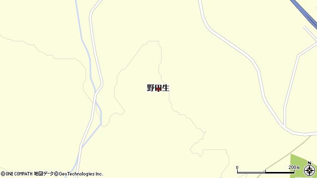〒049-2672 北海道二海郡八雲町野田生の地図