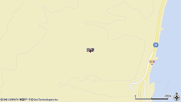 〒043-1404 北海道奥尻郡奥尻町宮津の地図